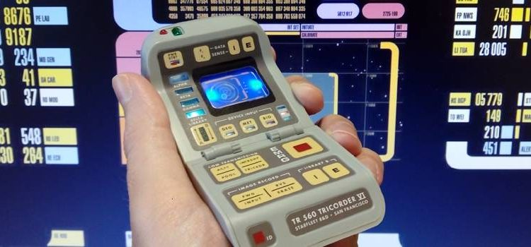 Miniature Tricorder With Light & Sound Review