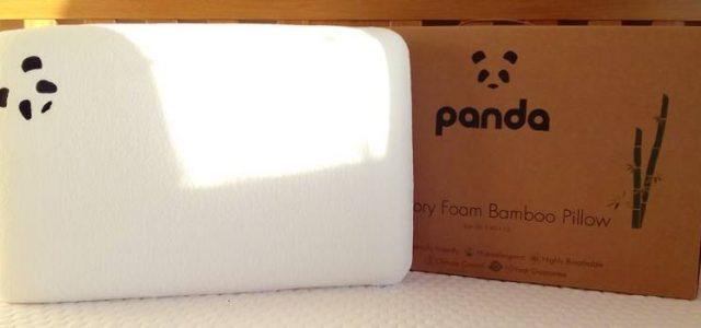 Panda Bamboo Memory Foam Pillow Review