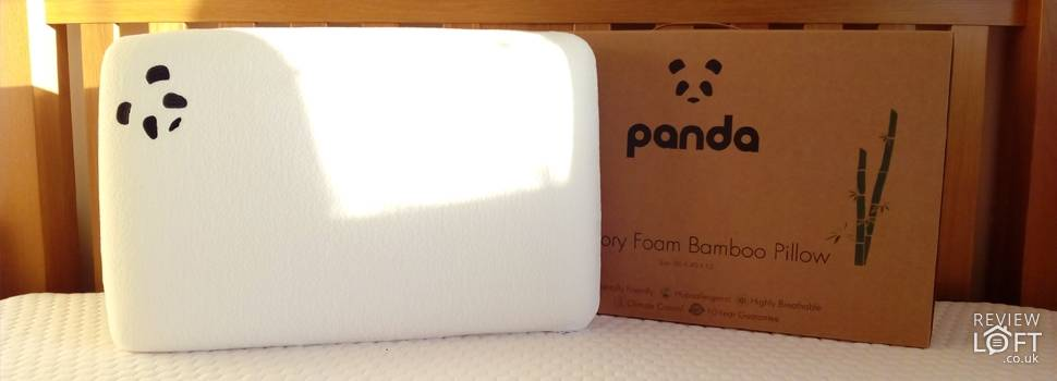 Panda Bamboo Memory Foam Pillow Review