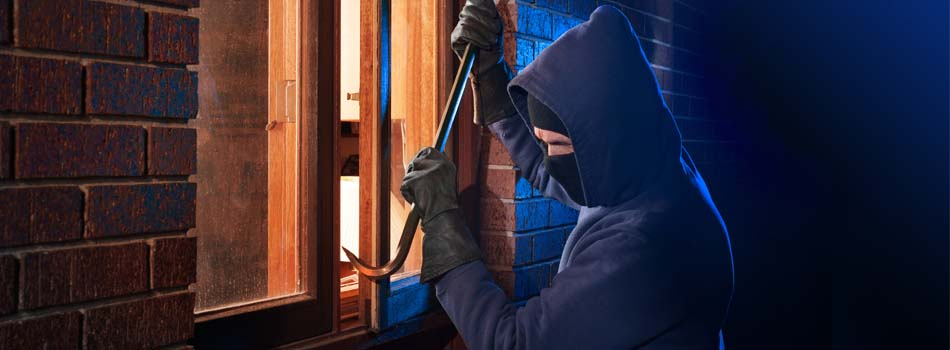 How Burglars Pick a House