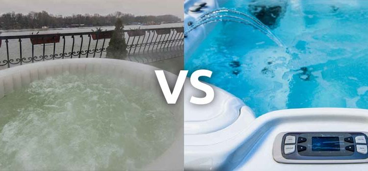 Inflatable Hot Tubs vs Regular Hot Tubs